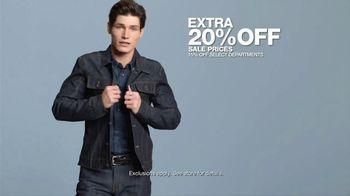 Macy's Presidents' Day Sale TV Spot, 'Extra 20 Percent Off' - Thumbnail 3