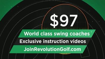 Revolution Golf TV Spot, 'World Class Swing Coaches' - Thumbnail 6