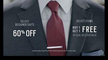Men's Wearhouse TV Spot, 'Designer Moments: Suits' - Thumbnail 6