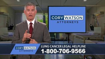Cory Watson Law TV Spot, 'Lung Cancer: Asbestos'