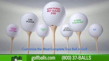 Golfballs.com Buy 3, Get 1 Free TV Spot, 'TaylorMade TP5 Golf Balls' - Thumbnail 3