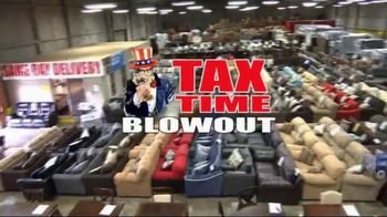 American Freight Tax Time Blowout TV Spot, 'Early Payoff Option' - 1 commercial airings