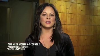 2018 CMT Next Women of Country TV Spot, 'All the Love Tour' Ft. Sara Evans - Thumbnail 2