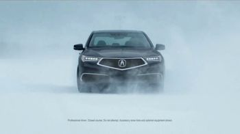 2018 Acura MDX TV Spot, 'Precison Winter Performance'