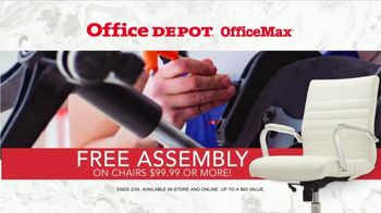 Office Depot OfficeMax Biggest Chair Event TV Spot, 'Free Assembly' - Thumbnail 8