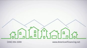 American Financing TV Spot, 'Refinance and Save Hundreds Monthly'