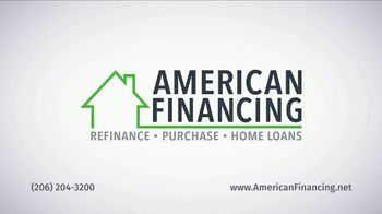 American Financing TV Spot, 'Refinance and Save Hundreds Monthly' - Thumbnail 4