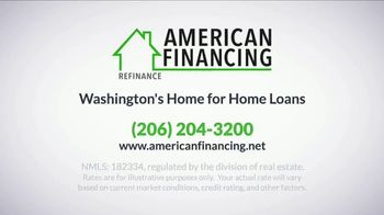 American Financing TV Spot, 'Refinance and Save Hundreds Monthly' - Thumbnail 7