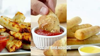 Papa John's Meal Deal TV Spot, 'Large Pizza + Breadside + 2-Liter' - Thumbnail 3