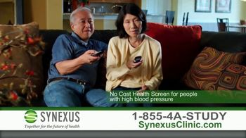 Synexus TV Spot, 'High Blood Pressure'