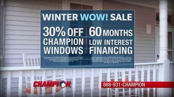 Champion Windows Winter Wow! Sale TV Spot, 'Christina' - Thumbnail 7