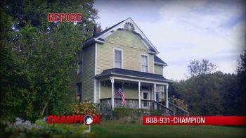 Champion Windows Winter Wow! Sale TV Spot, 'Christina' - Thumbnail 1
