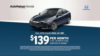 AutoNation TV Spot, 'Huge Savings: 2018 Honda Accord LX' - Thumbnail 6