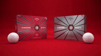 Callaway Chrome Soft TV Spot, 'Start at the Core' - Thumbnail 10