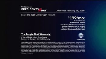 Volkswagen Presidents Day TV Spot, 'More Room: 2018 Volkswagen Tiguan' [T2] - Thumbnail 10