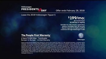 Volkswagen Presidents Day TV Spot, 'More Room: 2018 Volkswagen Tiguan' [T2] - Thumbnail 9