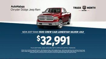 AutoNation Truck Month TV Spot, 'We Have What You Want: 2017 Ram 1500' - Thumbnail 7