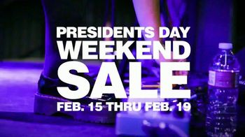 Guitar Center Presidents Day Weekend Sale TV Spot, 'Hottest New Gear'
