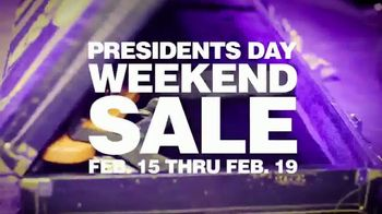 Guitar Center Presidents Day Weekend Sale TV Spot, 'Hottest New Gear'