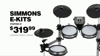 Guitar Center Presidents Day Weekend Sale TV Spot, 'Hottest New Gear' - Thumbnail 2