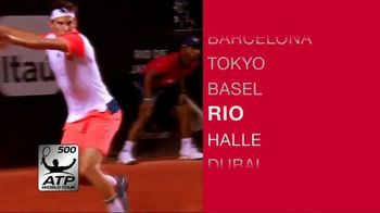 Tennis Channel Plus TV Spot, '2018 International ATP 500 and Masters 1000' - Thumbnail 5