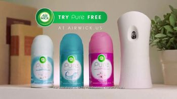 Air Wick Pure Freshmatic TV Spot, 'Try Pure Free' - Thumbnail 8