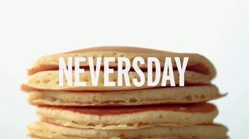 Denny's All You Can Eat Pancakes TV Spot, 'Ending Never'
