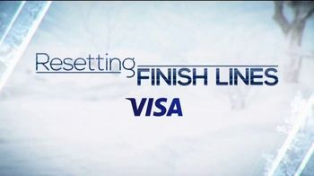 VISA TV Spot, 'Resetting Finish Lines' Featuring Chloe Kim - Thumbnail 2