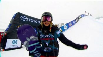 VISA TV Spot, 'Resetting Finish Lines' Featuring Chloe Kim - Thumbnail 8