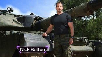 Bell + Howell Tactical Lighter TV Spot, 'Military Tough' Feat. Nick Bolton