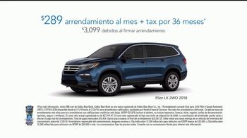2018 Honda Pilot TV Spot, 'Groceries' [Spanish] [T2] - Thumbnail 7