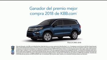 2018 Honda Pilot TV Spot, 'Groceries' [Spanish] [T2] - Thumbnail 8