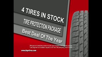 Big O Tires Buy Two Get Two Free Sale TV Spot, 'Legendary Deal' - Thumbnail 4