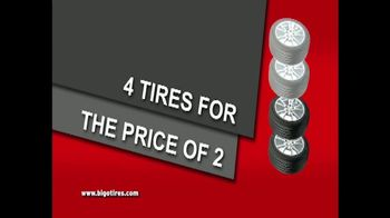 Big O Tires Buy Two Get Two Free Sale TV Spot, 'Legendary Deal'
