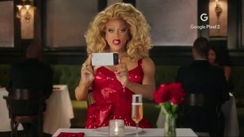 Google Pixel 2 TV Spot, 'V-Day' Featuring RuPaul - 14 commercial airings