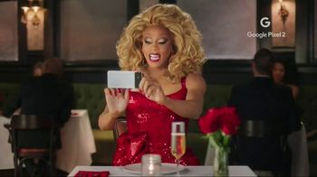 Google Pixel 2 TV Spot, 'V-Day' Featuring RuPaul - Thumbnail 3