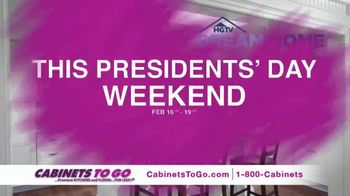 Cabinets to Go Presidents' Day Sale TV Spot, 'Up to 70 Percent Off' - Thumbnail 1