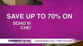 Cabinets to Go Presidents' Day Sale TV Spot, 'Up to 70 Percent Off'
