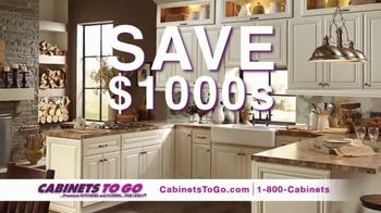 Cabinets to Go Presidents' Day Sale TV Spot, 'Up to 70 Percent Off' - Thumbnail 2
