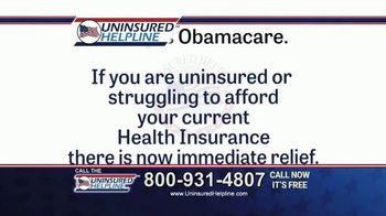 Uninsured Helpline TV Spot, 'Get What You Deserve'