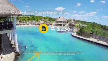 Expedia TV Spot, 'Beaches: Occidental at Xcaret' - Thumbnail 6