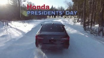 Honda Presidents' Day Sales Event TV Spot, 'Salute to Savings' [T2] - Thumbnail 8