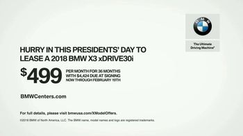 BMW Presidents Day TV Spot, 'Perfect Sense' [T2] - Thumbnail 10