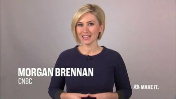 CNBC Make It TV Spot, \'Seeking a New Job\' Featuring Morgan Brennan