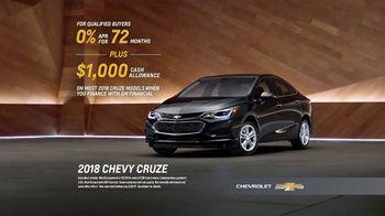 2018 Chevrolet Cruze TV Spot, 'No Words' [T2] - Thumbnail 8
