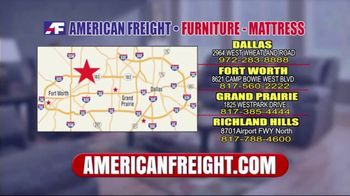 American Freight Tax Time Blowout TV Spot, 'Sectionals and Mattresses' - Thumbnail 8