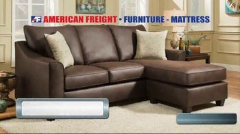 American Freight Tax Time Blowout TV Spot, 'Sectionals and Mattresses' - Thumbnail 2
