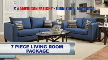 American Freight Tax Time Blowout TV Spot, 'Sectionals and Mattresses' - Thumbnail 4