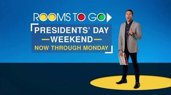 Rooms to Go Presidents' Day Sale TV Spot, 'Great Values' - Thumbnail 2