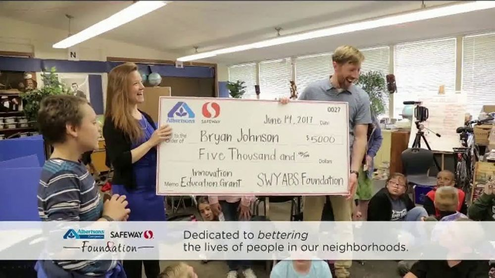 Albertsons Companies Foundation TV Commercial, '2018 Innovation in  Education' - Video